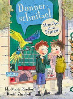 Donnerschnitzel – Mein Opa ist ein Papagei! von Alexandersen,  Peter Bay, Buchinger,  Friederike, Rendtorff,  Ida-Marie, Zimakoff,  Daniel