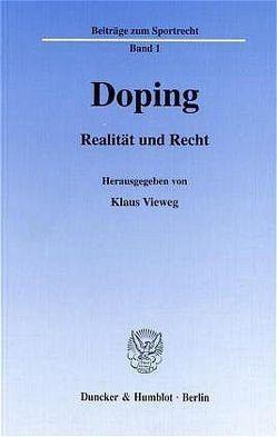Doping. von Vieweg,  Klaus