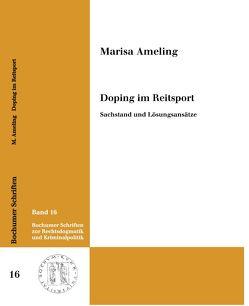 Doping im Reitsport. von Ameling,  Marisa