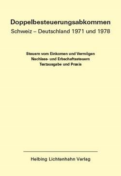 Doppelbesteuerungsabkommen CH-D EL 55 von Duss,  Pascal, Kolb,  Andreas, Löcher,  Kurt, Meier,  Walter, von Siebenthal,  Rudolf
