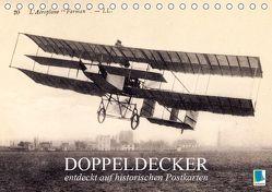 Doppeldecker entdeckt auf historischen Postkarten (Tischkalender 2019 DIN A5 quer) von CALVENDO
