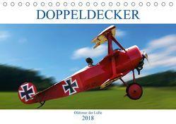 Doppeldecker Oldtimer der Lüfte (Tischkalender 2018 DIN A5 quer) von Robert,  Boris