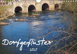 Dorfgeflüster (Wandkalender 2020 DIN A4 quer) von Monicella