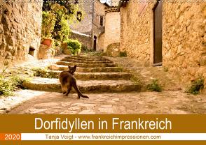 Dorfidyllen in Frankreich (Wandkalender 2020 DIN A2 quer) von Voigt,  Tanja