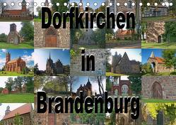 Dorfkirchen in Brandenburg (Tischkalender 2020 DIN A5 quer) von Morgenroth (petmo),  Peter