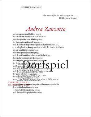 Dorfspiel von Capaldi,  Donatella, Fehninger,  Maria, Paulmichl,  Ludwig, Waterhouse,  Peter, Zanzotto,  Andrea