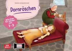 Dornröschen. Kamishibai Bildkartenset von Bohnstedt,  Antje, Grimm Brüder, Klement,  Simone