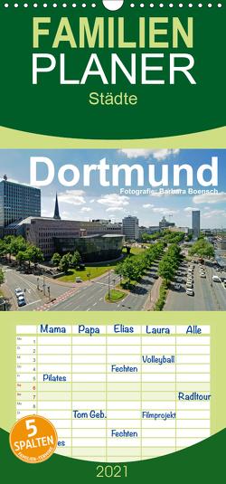 Dortmund – moderne Metropole im Ruhrgebiet – Familienplaner hoch (Wandkalender 2021 , 21 cm x 45 cm, hoch) von Boensch,  Barbara