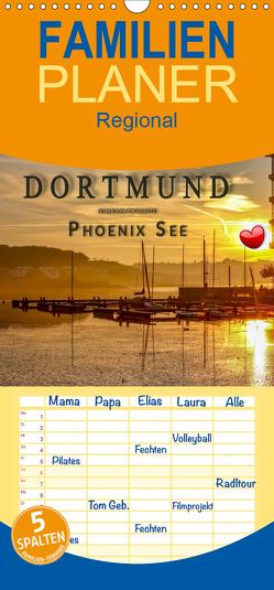 Dortmund Phoenix See – Familienplaner hoch (Wandkalender 2020 , 21 cm x 45 cm, hoch) von Roder,  Peter