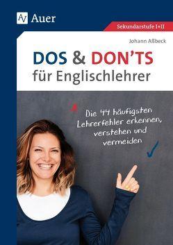 Dos and Don'ts für Englischlehrer von Assbeck,  Johann