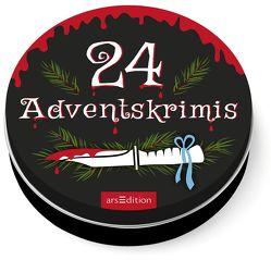 Dose groß 24 Adventskrimis von Solowski,  Marion