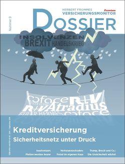 Dossier Kreditversicherung – Sicherheitsnetz unter Druck von Fromme,  Herbert