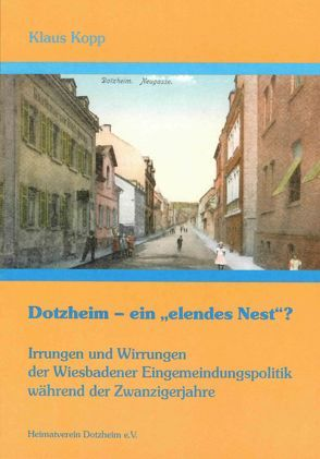 """Dotzheim – ein """"elendes Nest""""? von Köpp,  Klaus"""