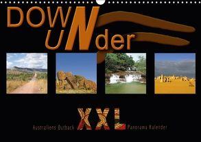 Down Under – Australiens Outback XXL (Wandkalender 2018 DIN A3 quer) von Redecker,  Andrea