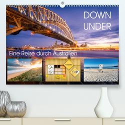 Down Under – Eine Reise durch Australien (Premium, hochwertiger DIN A2 Wandkalender 2021, Kunstdruck in Hochglanz) von Seidenberg Photography,  Christian