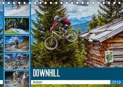 Downhill Action (Tischkalender 2019 DIN A5 quer) von Meutzner,  Dirk