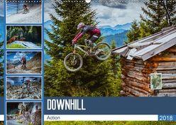 Downhill Action (Wandkalender 2018 DIN A2 quer) von Meutzner,  Dirk