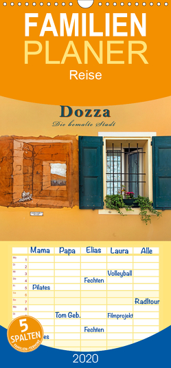 Dozza – Die bemalte Stadt – Familienplaner hoch (Wandkalender 2020 , 21 cm x 45 cm, hoch) von Zillich,  Bernd