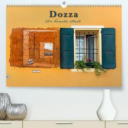 Dozza – Die bemalte Stadt (Premium, hochwertiger DIN A2 Wandkalender 2020, Kunstdruck in Hochglanz) von Zillich,  Bernd