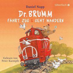 Dr. Brumm fährt Zug / Dr. Brumm geht wandern (Dr. Brumm ) von Kaempfe,  Peter, Napp,  Daniel