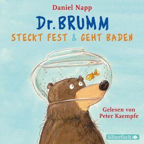Dr. Brumm steckt fest / Dr. Brumm geht baden (Dr. Brumm ) von Kaempfe,  Peter, Napp,  Daniel, Pflug,  Jan-Peter