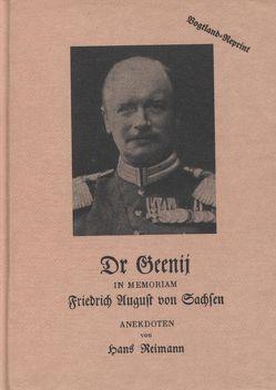 Dr Geenji von Reimann,  Hans