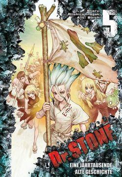 Dr. Stone 5 von Boichi, Inagaki,  Riichiro, Rusch,  Benjamin
