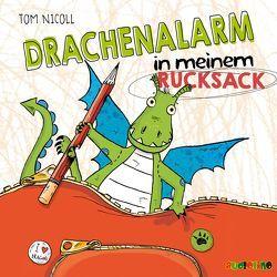 Drachenalarm in meinem Rucksack von Mues,  Jona, Nicoll,  Tom