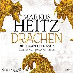 Drachen. Die komplette Saga (Die Drachen-Reihe ) von Heitz,  Markus, Steck,  Johannes