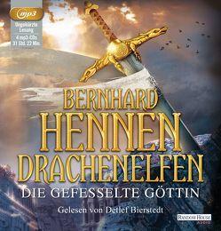 Drachenelfen. Die gefesselte Göttin von Bierstedt,  Detlef, Hennen,  Bernhard