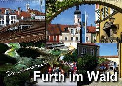 Drachenstadt Furth im Wald (Wandkalender 2018 DIN A2 quer) von Bleicher,  Renate