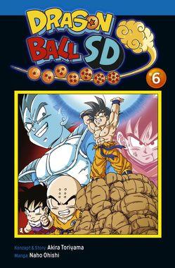 Dragon Ball SD 6 von Akira Toriyama (Original Story), Ohishi,  Naho, von Teichman,  Cordelia