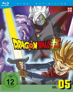 Dragon Ball Super – Blu-ray Box 5 (2 Blu-tays) – Episoden 62-76 von Chioka,  Kimitoshi, Hatano,  Kouhei, Hatano,  Morio, Nagamine,  Tatsuya, Nakamura,  Ryōta