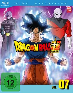 Dragon Ball Super – Blu-ray Box 7 – 5.Arc: Universum-Turnier (2 Blu-rays) – Episoden 96-112 von Chioka,  Kimitoshi, Hatano,  Kouhei, Hatano,  Morio, Nagamine,  Tatsuya, Nakamura,  Ryōta