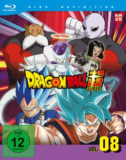Dragon Ball Super – Blu-ray Box 8 (2 Blu-rays) – Episoden 113-131 von Chioka,  Kimitoshi, Hatano,  Kouhei, Hatano,  Morio, Nagamine,  Tatsuya, Nakamura,  Ryōta