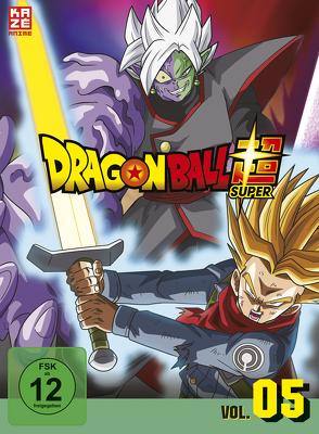 Dragon Ball Super – DVD Box 5 (3 DVDs) – Episoden 62-76 von Chioka,  Kimitoshi, Hatano,  Kouhei, Hatano,  Morio, Nagamine,  Tatsuya, Nakamura,  Ryōta