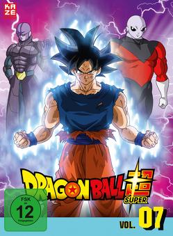Dragon Ball Super – DVD Box 7 – 5.Arc: Universum-Turnier (3 DVDs) – Episoden 96-112 von Chioka,  Kimitoshi, Hatano,  Kouhei, Hatano,  Morio, Nagamine,  Tatsuya, Nakamura,  Ryōta