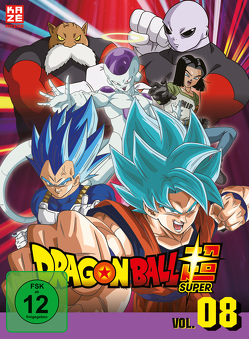 Dragon Ball Super – DVD Box 8 (3 DVDs) – Episoden 113-131 von Chioka,  Kimitoshi, Hatano,  Kouhei, Hatano,  Morio, Nagamine,  Tatsuya, Nakamura,  Ryōta