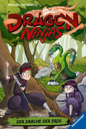 Dragon Ninjas, Band 4: Der Drache der Erde von Bláha,  Marek, Petrowitz,  Michael