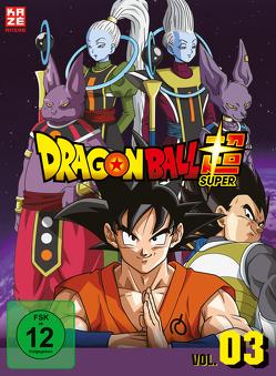 Dragonball Super – 3. Arc: Universum 6 – Episoden 28-46 (3 DVDs) von Chioka,  Kimitoshi, Hatano,  Kouhei, Hatano,  Morio, Nagamine,  Tatsuya, Nakamura,  Ryōta