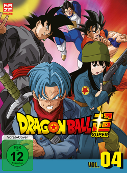 Dragonball Super – 4. Arc: Trunks aus der Zukunft – Episoden 47-61 (3 DVDs) von Chioka,  Kimitoshi, Hatano,  Kouhei, Hatano,  Morio, Nagamine,  Tatsuya, Nakamura,  Ryōta