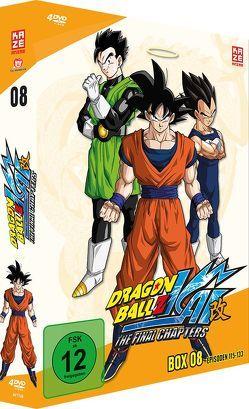 Dragonball Z Kai – DVD Box 8 (4 DVDs) – Episoden 117-133 von Nowatari,  Yasuhiro