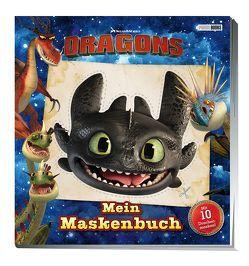 Dragons: Mein Maskenbuch von Hoffart,  Nicole, Wöhrmann,  Ruth