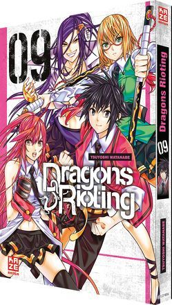 Dragons Rioting 09 von Tabuchi,  Etsuko, Watanabe,  Tsuyoshi, Weitschies,  Florian