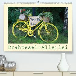 Drahtesel-Allerlei (Premium, hochwertiger DIN A2 Wandkalender 2021, Kunstdruck in Hochglanz) von Keller,  Angelika