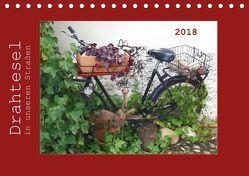 Drahtesel in unseren Straßen (Tischkalender 2018 DIN A5 quer) von Keller,  Angelika