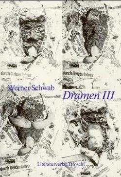 Dramen Band drei von Schwab,  Werner