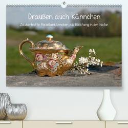 Draußen auch Kännchen (Premium, hochwertiger DIN A2 Wandkalender 2020, Kunstdruck in Hochglanz) von silvimania