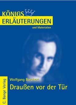 Draußen vor der Tür von Wolfgang Borchert. von Borchert,  Wolfgang, Poppe,  Reiner
