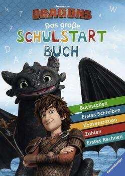 Dreamworks Dragons: Das große Schulstartbuch von Hahn,  Stefanie, Super RTL